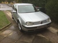 VW Golf 1.6 5 door hatch back