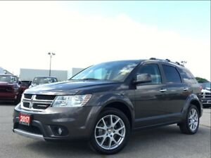 2017 Dodge Journey GT**AWD**LEATHER**SUNROOF**7 PASSENGER**