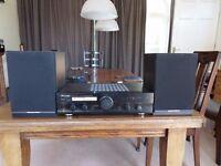 Pioneer A-109 amp + Mordaunt Short MS10 speakers + Sound Lab DLP 1600 Belt drive Turntable