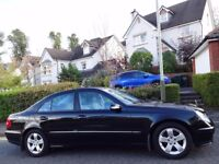 STUNNING! IMMACULATE! (2005) MERCEDES E320 CDi AVANTGARDE AUTO ONE OWNER/ONLY 60K MILES/FSH/7 STAMPS