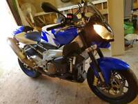 Aprilia tuono 1000 r special edition blue not rsv z1000 fz1 streetfighter