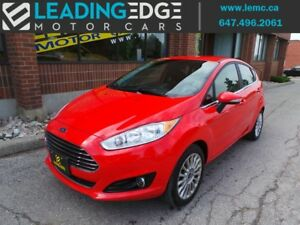 2015 Ford Fiesta Titanium Leather, Bluetooth and More!!
