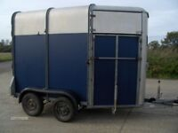 Ifor Williams 505R Two Horse Trailer.