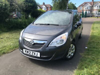 2012 Vauxhall Meriva 1.4 i 16v Turbo Exclusiv 5dr (a/c) --- Part Exchange Welcome --- Drives Good