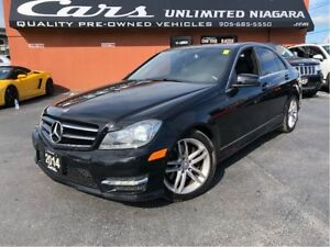 2014 Mercedes-Benz C-Class C300 4MATIC | NO ACCIDENTS | LOW MILE