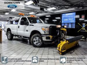 2011 Ford F-350 XLT, Leather Seats, Snow Plow