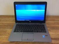 HP EliteBook 820 - i7 4600U - 8GB Ram - 256 GB SSD - USB 3.0 - Bluetooth - Windows 10 Laptop PC