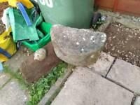 Two free large rockery stones