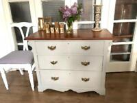 Victorian chest of drawers Free Delivery Ldn Shabby Chic