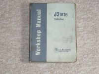 J2 M16 WORKSHOP MANUAL 1966