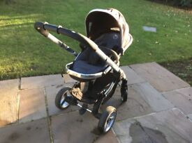 iCandy Peach Pushchair - complete with foot cosy & Maxi-Cosi adaptors