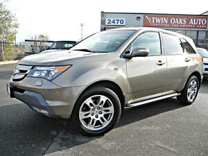 2009 Acura MDX Technology Package - AWD -NAVI - REAR V/CAM - CER