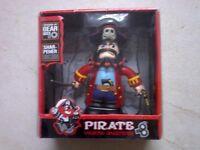 Pirate pencil sharpener ! It walks too ! NEW in box