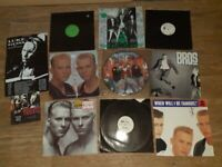 10 x bros matt luke vinyl collection / promos