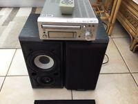 Denon hi-fi & Mission speakers