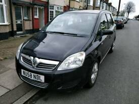 Vauxhall Zafira Exclusiv 1.6 petrol