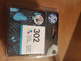 HP 302 tri colour inkjet cartridge