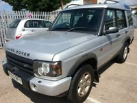 LAND ROVER DISCOVERY TD5 3003 REG 7 SEATER DIESEL SUV 4X4 4WD 12 MONTHS MOT SERVICE HISTORY