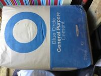 Blue circle cement 5 x 25kg .just bought too many for the job