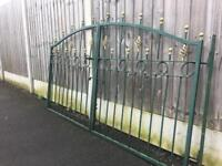 Nice set of decorative Driveway Gates £135 can deliver