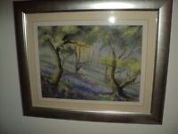bluebells by b w cornish