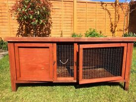 Guinea pig hutch / cage and run