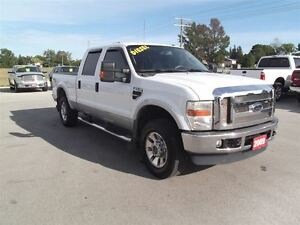 2009 Ford F-250 Lariat,DIESEL,CREW,LEATHER,WELL OILED,LOCAL TRAD