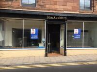 Large Shop/Office for Rent, Central Arbroath, Large window frontage.