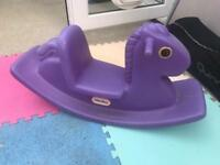 Little tikes purple rocker