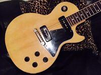 Gibson Les Paul Special 1960 Custom Shop TV Yellow Single Cut Thunders Marc Bolan