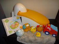 bathing time toys bundle