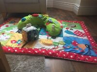 Large elc play mat, sitting support and musical toy