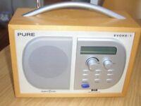 PURE DAB RADIO FOR SALE