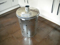 New! High Quality sturdy garden incinerator bin - paid £40 from garden centre