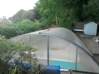 Swimming Pool Enclosure - Retractable/Sliding