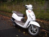 2011 Sym fiddle 125cc scooter 12 months MOT low mileage Delivery available