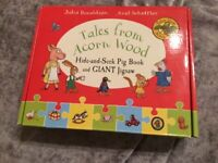 Hide and Seek Giant Puzzle with Hide and Seek Pig Book and Match and Learn Spelling fun