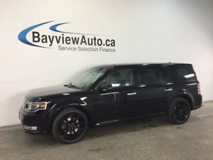 2017 Ford FLEX LTD- AWD! REM STRT! ROOF! HTD LTHR! BLIS! NAV!