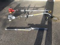 2 x petrol strimmers with bush cutter. Spares or repair