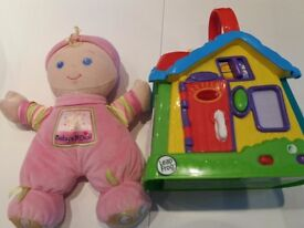 1st baby doll and activity centre