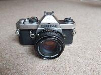Pentax MX 35mm SLR Film Manual Camera + Pentax-M 50mm F1.7 Lens