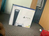 Brand new boxed up unopened PS5