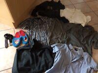 Joblot Of men's clothes. Bench, Next,Penguin