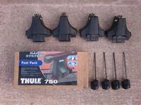 THULE 750 roof rack foot pack