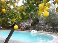 farmhouse and holiday cottage/annexe with pool are garden in Orgiva, Granada, Spain
