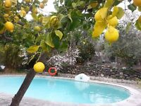 family house and holiday cottage/annexe with pool and garden in Orgiva, Granada, Spain