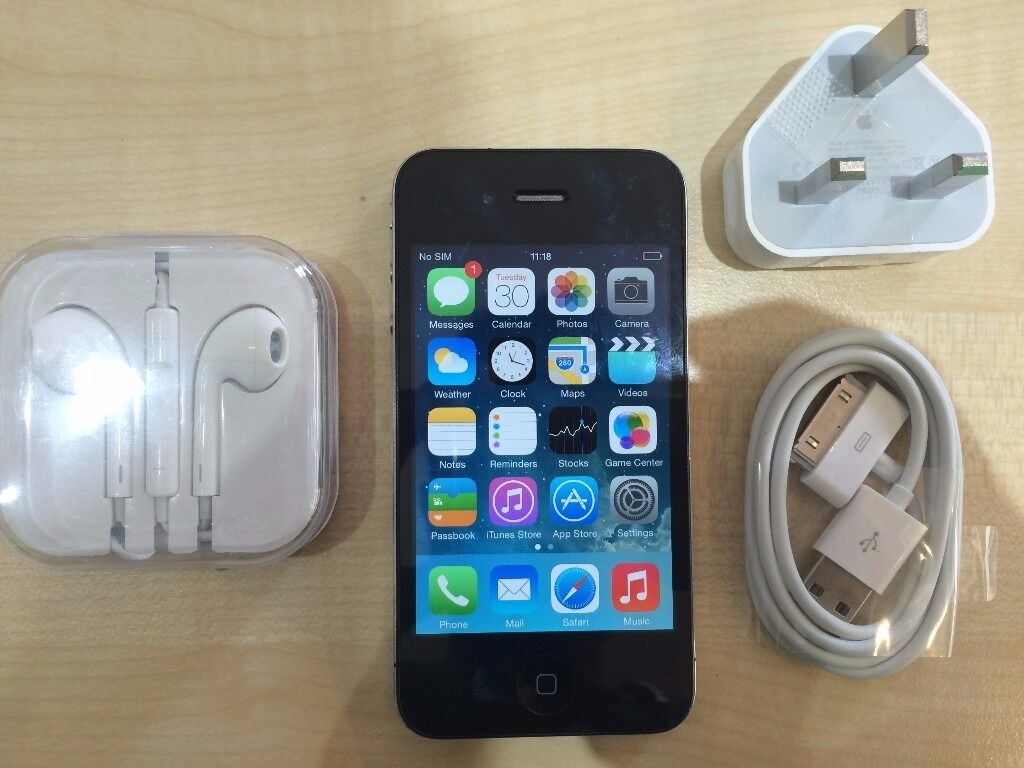 IPHONE 4 BLACK/ UNLOCKED32 GB/ VISIT MY SHOPGRADE A/1 YEAR WARRANTYRECEIPTin Manor Park, LondonGumtree - IPHONE 4 BLACK unlocked and Grade A condition. This phone working perfectly and has the memory of 32 GB. The phone is like new and ready to use. COMES WITH 1 YEAR WARRANTY VISIT MY SHOP. 556 ROMFORD ROAD E12 5AD METRO TECH LTD. (Right next to Wood...