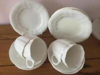 4x trios derby crown china type sets