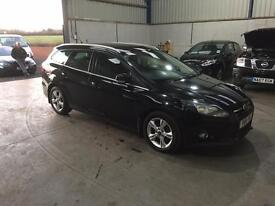 2012 Ford Focus Zetec 1.6 tdci 6 speed manual estate 1 owner full service history cheap car