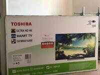 Toshiba 65 inch tv box